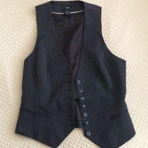 H&M pinstriped vest